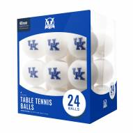 Kentucky Wildcats 24 Count Ping Pong Balls