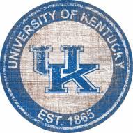 "Kentucky Wildcats 24"" Heritage Logo Round Sign"