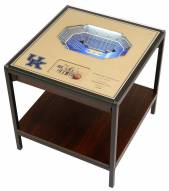 Kentucky Wildcats 25-Layer StadiumViews Lighted End Table