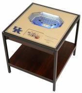 Kentucky Wildcats 25-Layer StadiumViews Lighted End Table