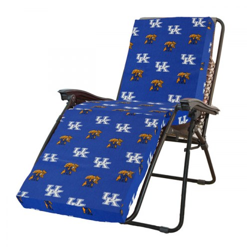 Kentucky Wildcats 3 Piece Chaise Lounge Chair Cushion