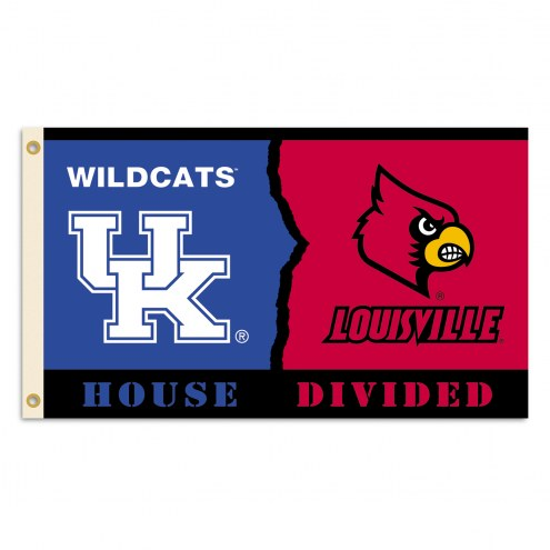Kentucky Wildcats 3' x 5' Rivalry Flag