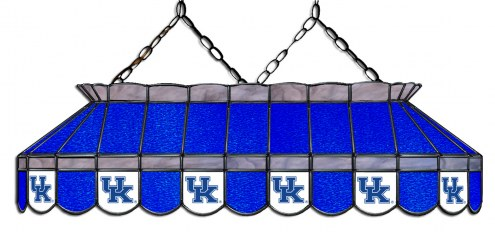"""Kentucky Wildcats 40"""" Stained Glass Pool Table Light"""