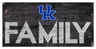 "Kentucky Wildcats 6"" x 12"" Family Sign"