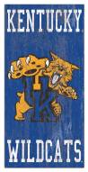 "Kentucky Wildcats 6"" x 12"" Heritage Logo Sign"