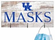 """Kentucky Wildcats 6"""" x 12"""" Mask Holder"""