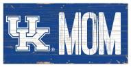 "Kentucky Wildcats 6"" x 12"" Mom Sign"
