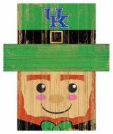 "Kentucky Wildcats 6"" x 5"" Leprechaun Head"