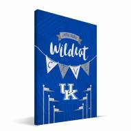 "Kentucky Wildcats 8"" x 12"" Little Man Canvas Print"