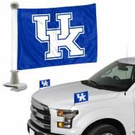 Kentucky Wildcats Ambassador Hood & Trunk Car Flag