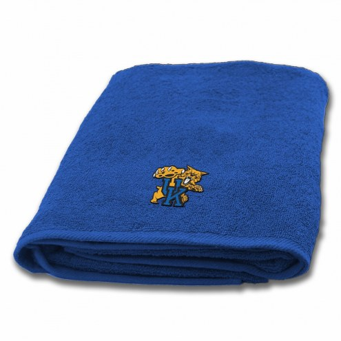 Kentucky Wildcats Applique Bath Towel