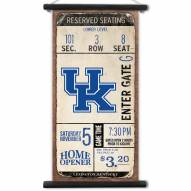 Kentucky Wildcats Kickoff Printed Canvas Banner