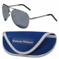 Kentucky Wildcats Aviator Sunglasses and Sports Case