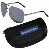 Kentucky Wildcats Aviator Sunglasses and Zippered Carrying Case