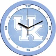 Kentucky Wildcats Baby Blue Wall Clock
