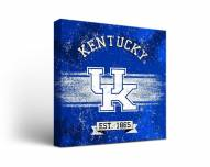 Kentucky Wildcats Banner Canvas Wall Art