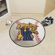 Kentucky Wildcats Baseball Rug