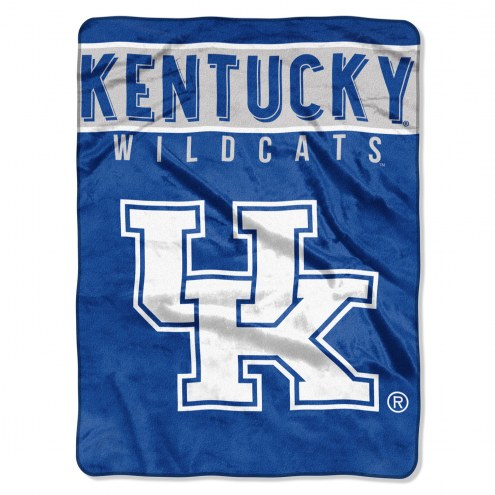 Kentucky Wildcats Basic Raschel Blanket