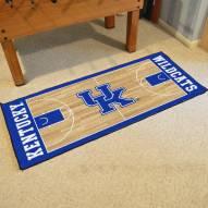 Kentucky Wildcats Basketball Court Runner Rug