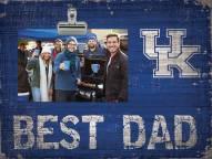 Kentucky Wildcats Best Dad Clip Frame