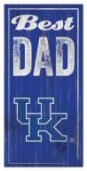Kentucky Wildcats Best Dad Sign