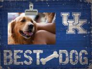 Kentucky Wildcats Best Dog Clip Frame