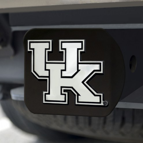 Kentucky Wildcats Black Matte Hitch Cover