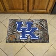 Kentucky Wildcats Camo Scraper Door Mat