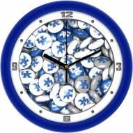 Kentucky Wildcats Candy Wall Clock