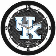 Kentucky Wildcats Carbon Fiber Wall Clock