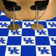 Kentucky Wildcats Carpet Tiles