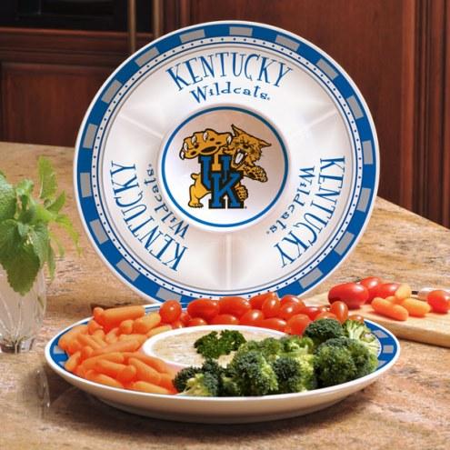 Kentucky Wildcats Ceramic Chip and Dip Serving Dish
