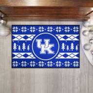 Kentucky Wildcats Christmas Sweater Starter Rug