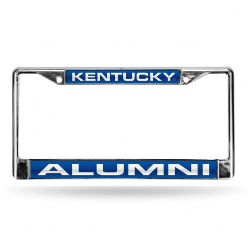 Kentucky Wildcats Chrome Alumni License Plate Frame