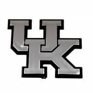 Kentucky Wildcats Chrome Car Emblem
