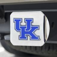 Kentucky Wildcats Chrome Color Hitch Cover
