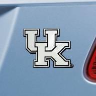 Kentucky Wildcats Chrome Metal Car Emblem