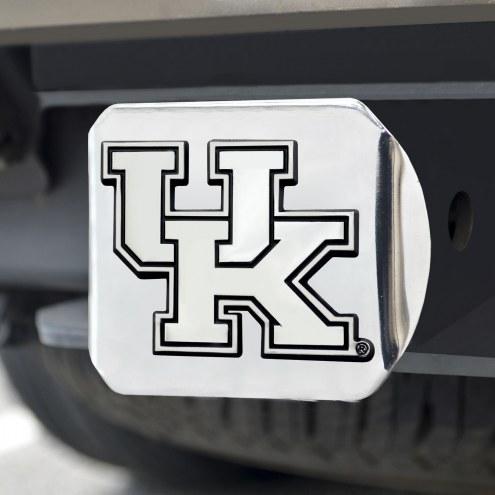 Kentucky Wildcats Chrome Metal Hitch Cover