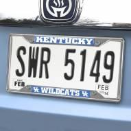 Kentucky Wildcats Chrome Metal License Plate Frame