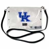 Kentucky Wildcats Clear Envelope Purse