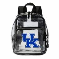 Kentucky Wildcats Clear Stadium Mini Backpack