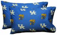 Kentucky Wildcats Printed Pillowcase Set