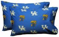 Kentucky Wildcats Printed Pillowcase Set