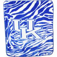Kentucky Wildcats Raschel Throw Blanket