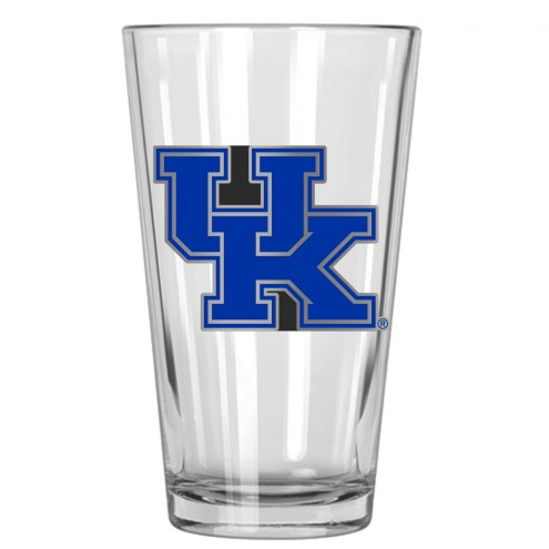 Kentucky Wildcats College 16 Oz. Pint Glass 2-Piece Set