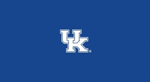 Kentucky Wildcats College Team Logo Billiard Cloth