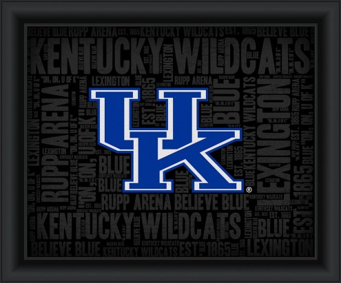 Kentucky Wildcats College Word Cloud