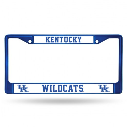 Kentucky Wildcats Color Metal License Plate Frame