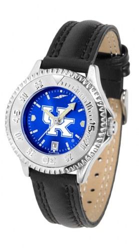 Kentucky Wildcats Competitor AnoChrome Women's Watch