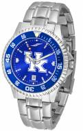 Kentucky Wildcats Competitor Steel AnoChrome Color Bezel Men's Watch